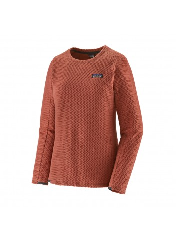 Patagonia R1 Air Crew Fleece - Spanish Red_13289