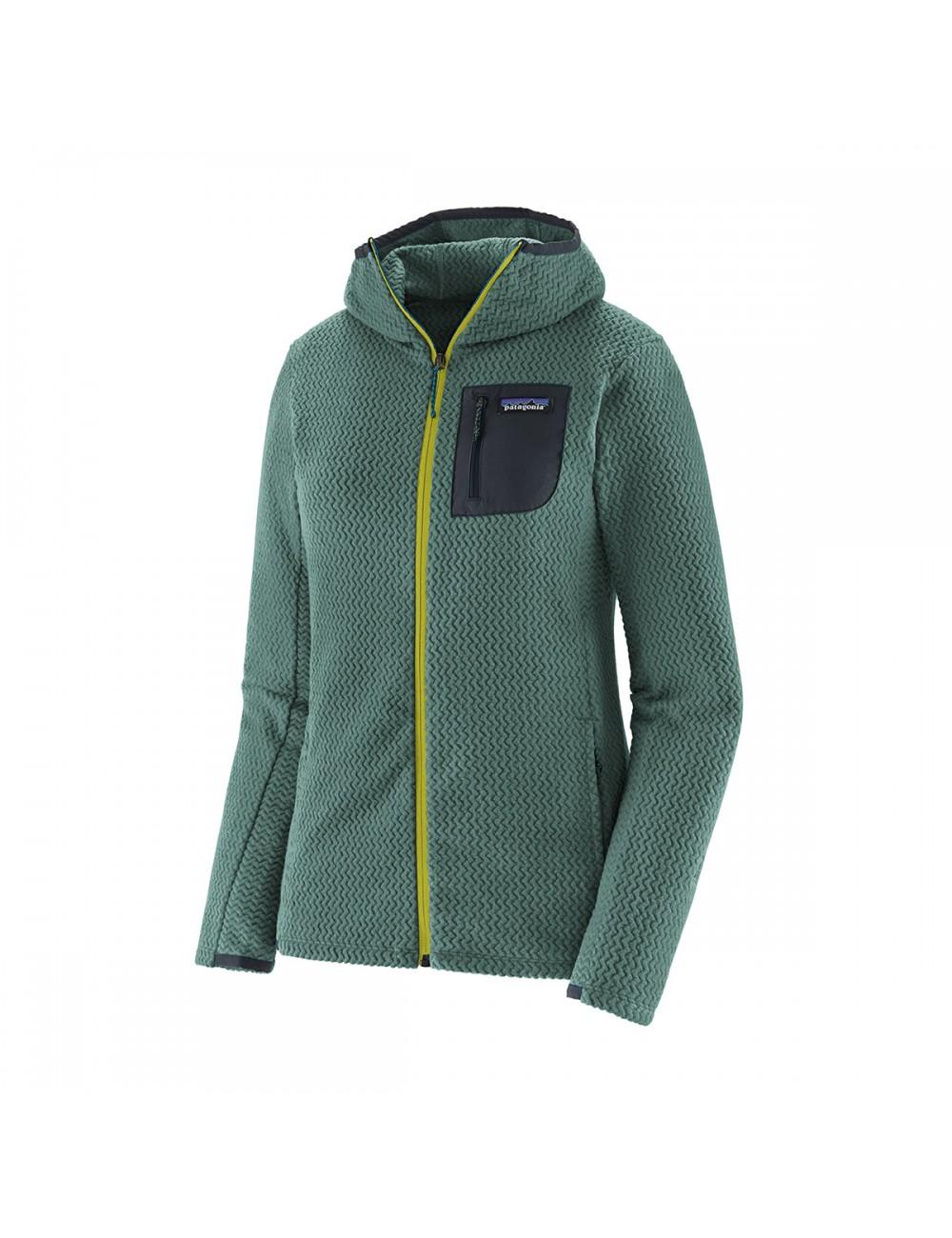 Patagonia R1 Air Full Zip Hoodie - Green_13290