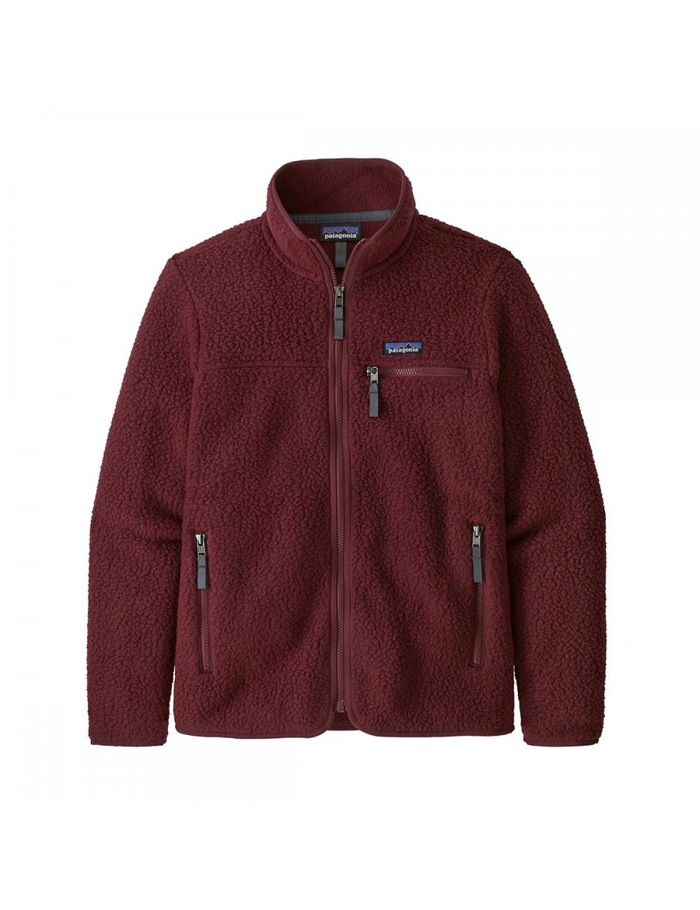 Patagonia Retro Pile Jacket - Chicory Red_13294
