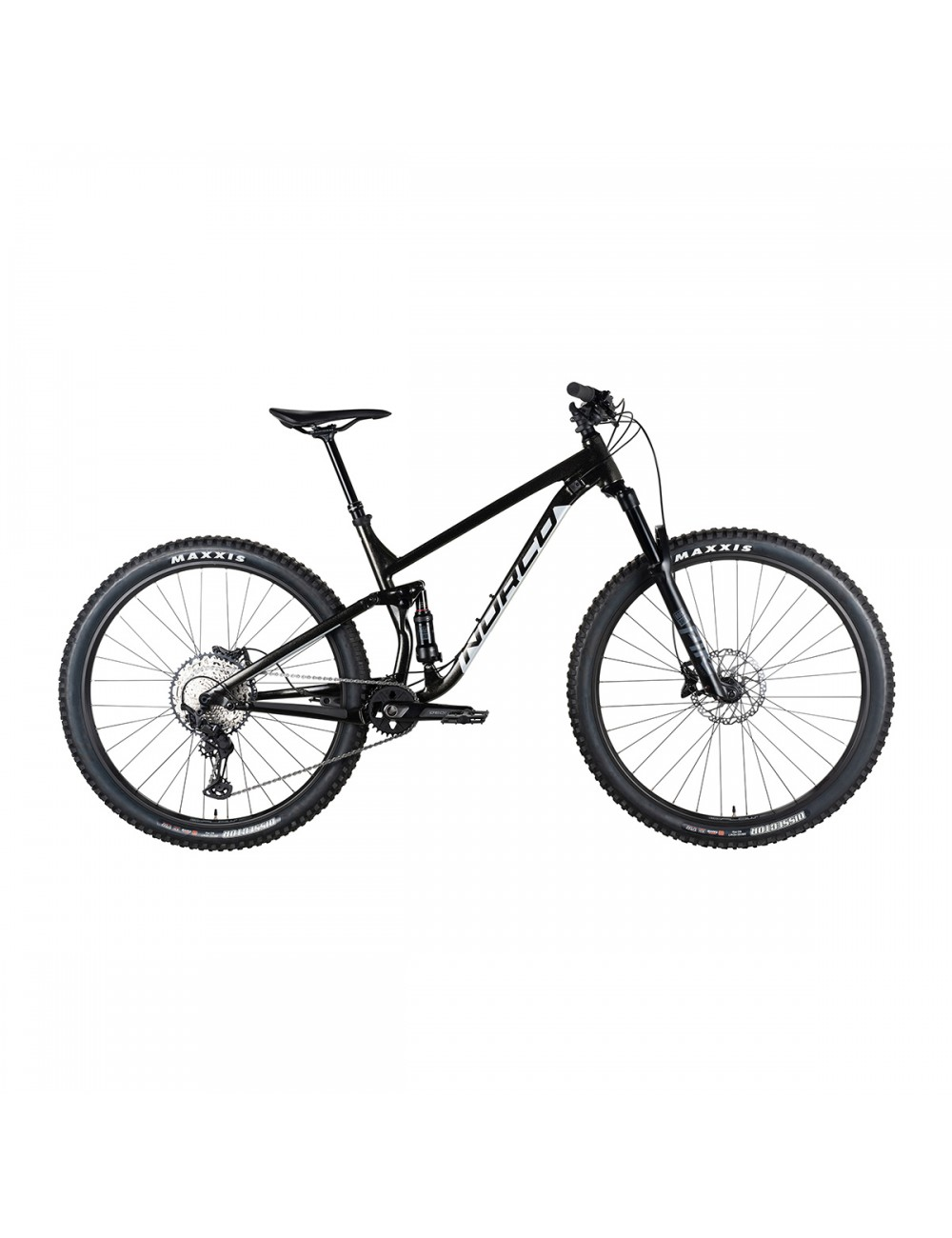 Norco Fluid A9.1 Bike - Black/Silver_13332