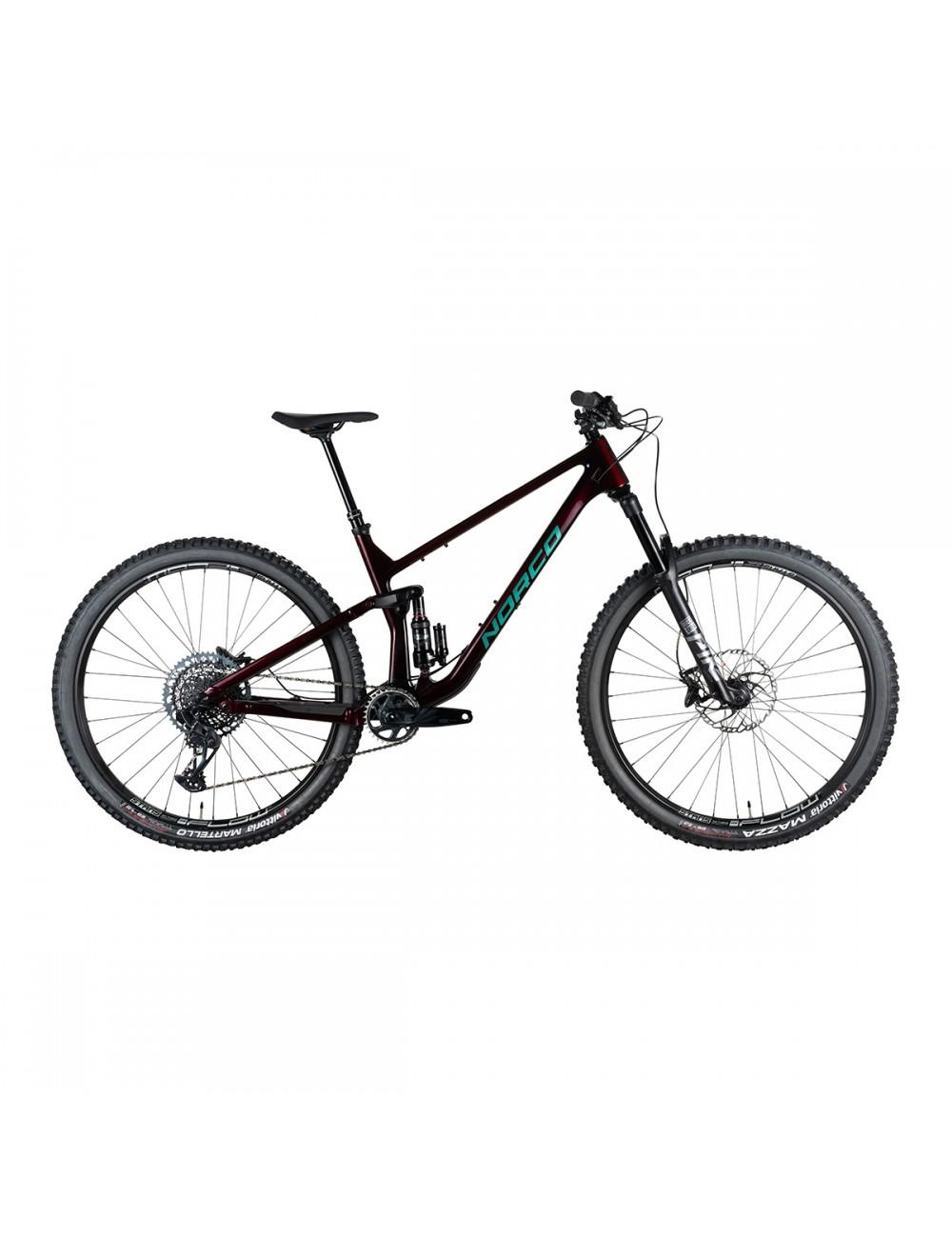 Norco Optic C9.2 Bike - Red/Green_13335