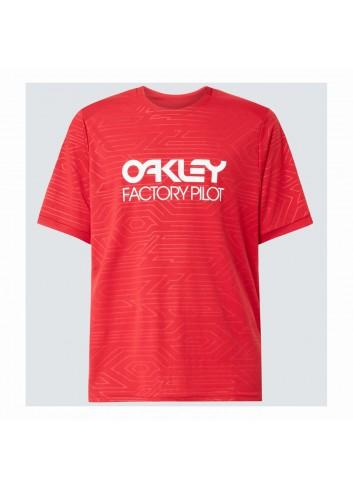 Oakley Pipeline Trail Tee - Red Line_13366