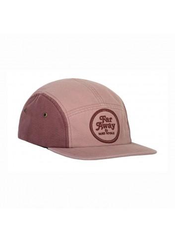 Mons Royale Beattie 5 Pannel Cap - Pink Clay_13429