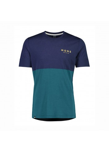 Mons Royale Cadence T-Shirt - Navy_13431