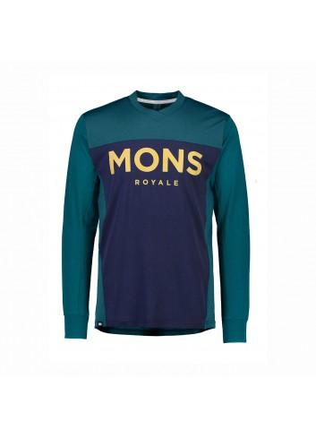 Mons Royale Redwood Enduro VLS Shirt - Navy_13435