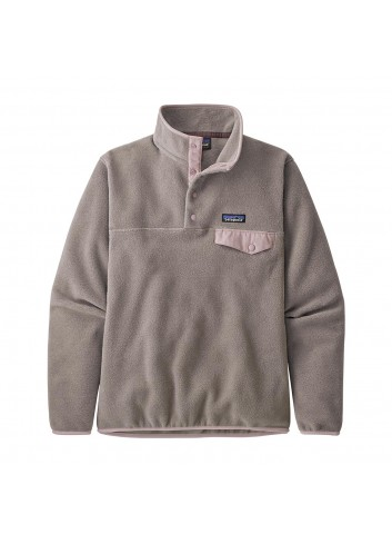 Patagonia Wms LW Synch SnapT Pullover - Taupe_13464