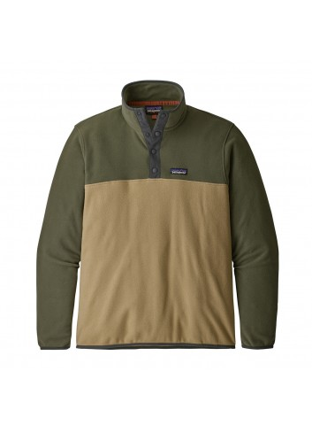 Patagonia Micro D Snap Pullover - Classic Tan_13468