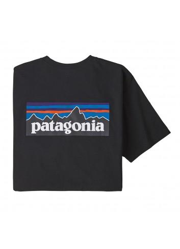 Patagonia Logo Pocket Responsibili Tee - black_13471