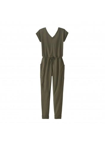 Patagonia Wms Organic Cotton Jumpsuit - Green_13486