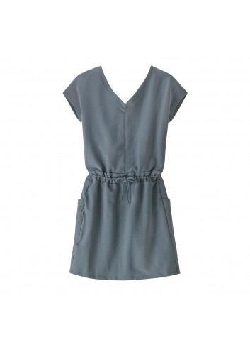 Patagonia Wms Organic Cotton Dress - Plume Grey_13487