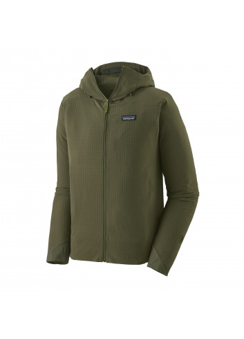 Patagonia R1 Tech Face Hoody - Industrial Green_13492