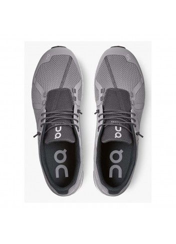 ON Cloud Shoe - Zinc/White_13567