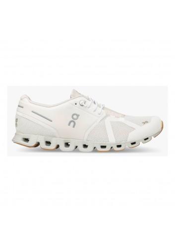 ON Wms Cloud Shoe - White/Sand_13579