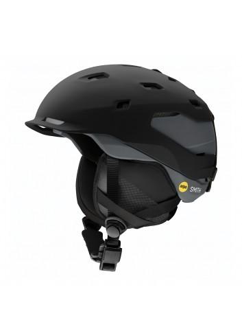 Smith Quantum Mips Helm - Black/Charcoal_13681