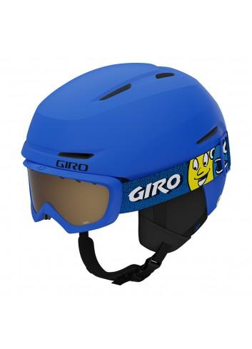 Giro Jr Spur Combo - Matte Trim Blue/Blue Faces_13727