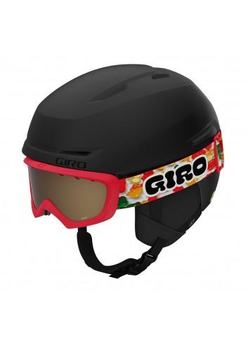 Giro Jr Spur Combo - Matte Black/Gummy Bear 21_13729
