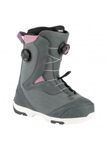 Nitro Wms Cypress Boa Dual Boot - Charc./Purple_13790