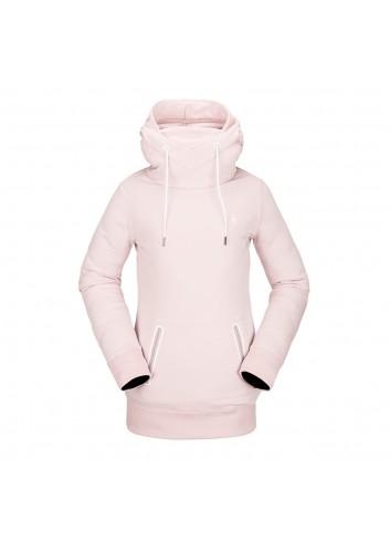 Volcom Wms Polartec Ridin Hoody - Hazey Pink_13803