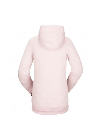 Volcom Wms Polartec Ridin Hoody - Hazey Pink_13804