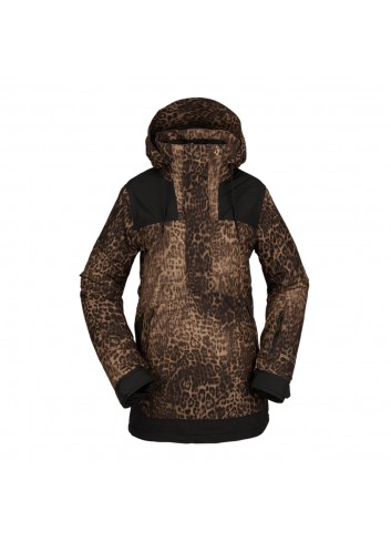 Volcom Wms Fern INS Gore Pullover - Leopard_13808