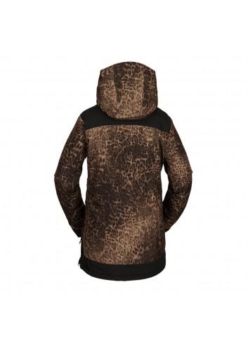 Volcom Wms Fern INS Gore Pullover - Leopard_13809