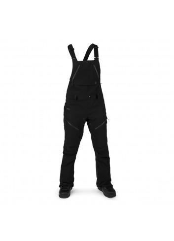 Volcom Wms Elm Stretch Gore Bib Overall - Black_13810