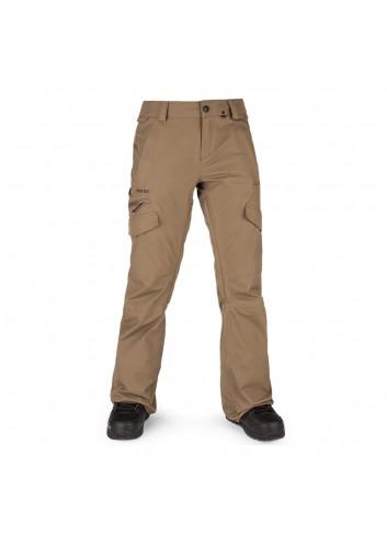 Volcom Wms Aston Gore-Tex Pants - Coffee_13815