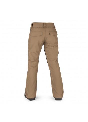 Volcom Wms Aston Gore-Tex Pants - Coffee_13816