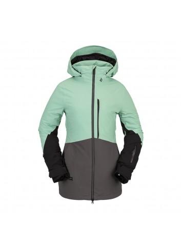 Volcom Wms 3D Stretch Gore Jacket - Mint_13817