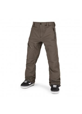Volcom L Gore-Tex Pants - Dark Teak_13834
