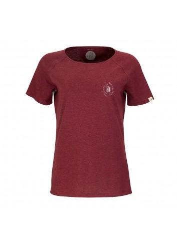ZRCL Wms T-Shirt Think - Dark Wine_13872