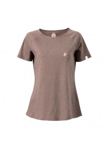 ZRCL Wms T-Shirt Snowflake - Brown mel._13873