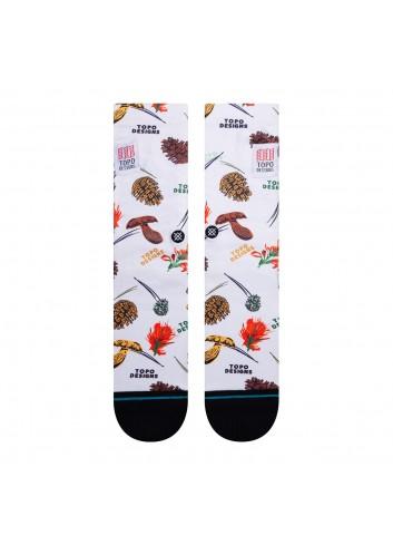 Stance Topo Crew Socks - Canvas_13881