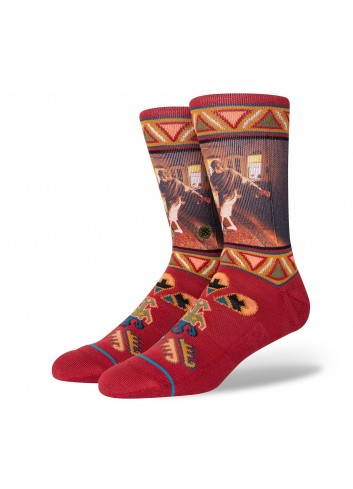 Stance Really Tied Socks - Red_13883