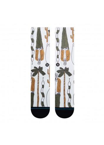 Stance Dead Man Socks - Off White_13888