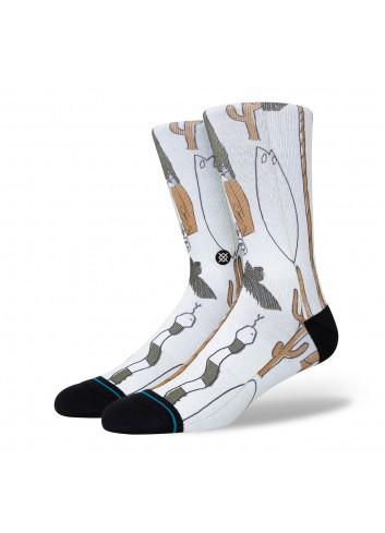 Stance Dead Man Socks - Off White_13889