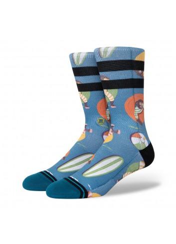 Stance Monkey Chillin Socks - Teal_13892