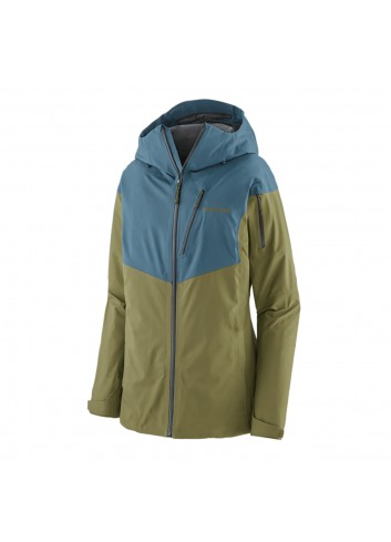 Patagonia Wms Snowdrifter Jacket - Abalone Blue_13901