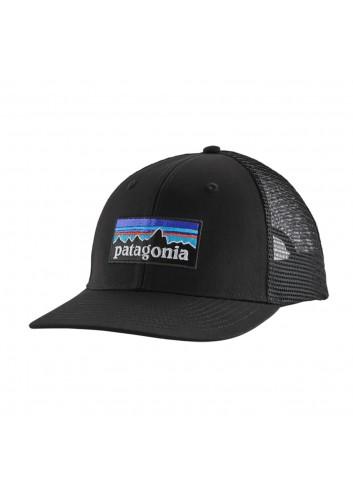 Patagonia P-6 Logo Trucker Hat - Black_13907