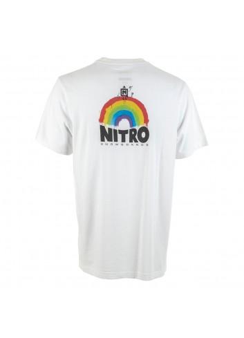 Nitro Optisym Pocket Tee Shirt - White_13945