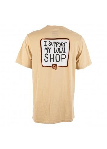 Nitro Support Local Tee Shirt - Khaki_13947