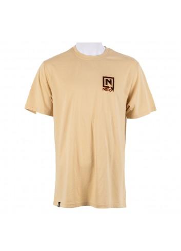 Nitro Support Local Tee Shirt - Khaki_13948