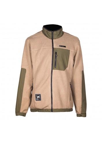 L1 Onyx Fleece Jacket - Dune/Military_13974